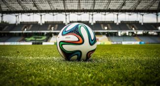 Fußball Stadion Ball